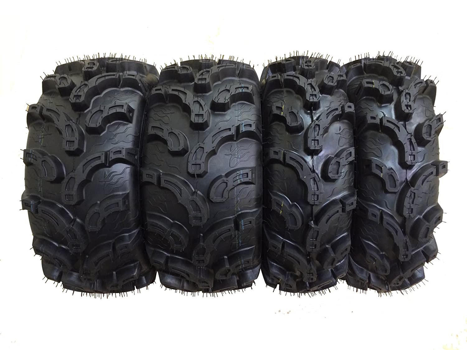 Set of 4 New Premium WANDA ATV/UTV Tires 27x9-12 Front & 27x12-12 Rear /6PR P375 10219/10220
