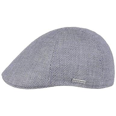 0718de5a12214 Stetson Texas Warnerville Linen Flat Cap Ivy hat  Amazon.co.uk  Clothing