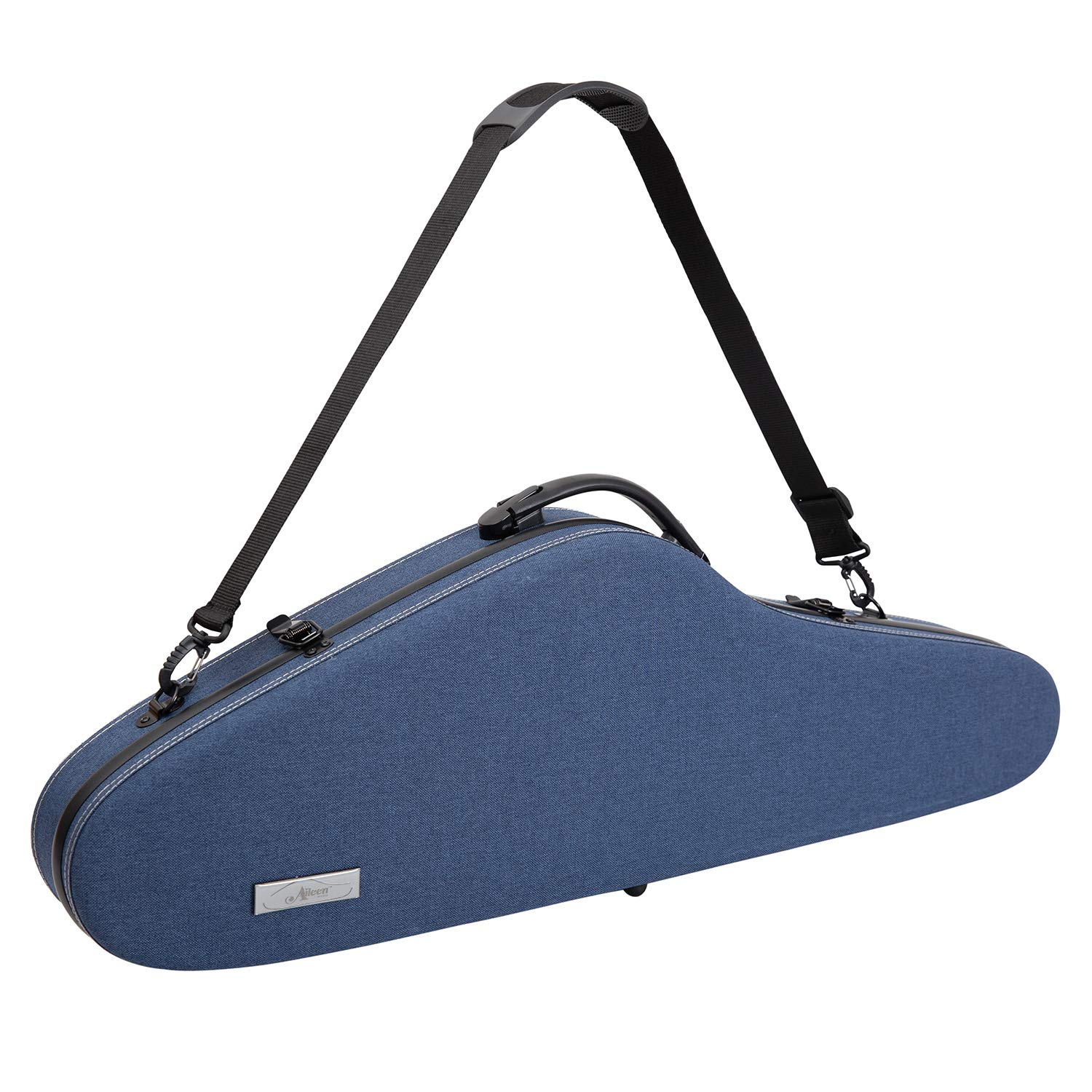 ADM Violin Hard Case 4//4 Full Size Luxury Personalized with Hygrometer padded strap