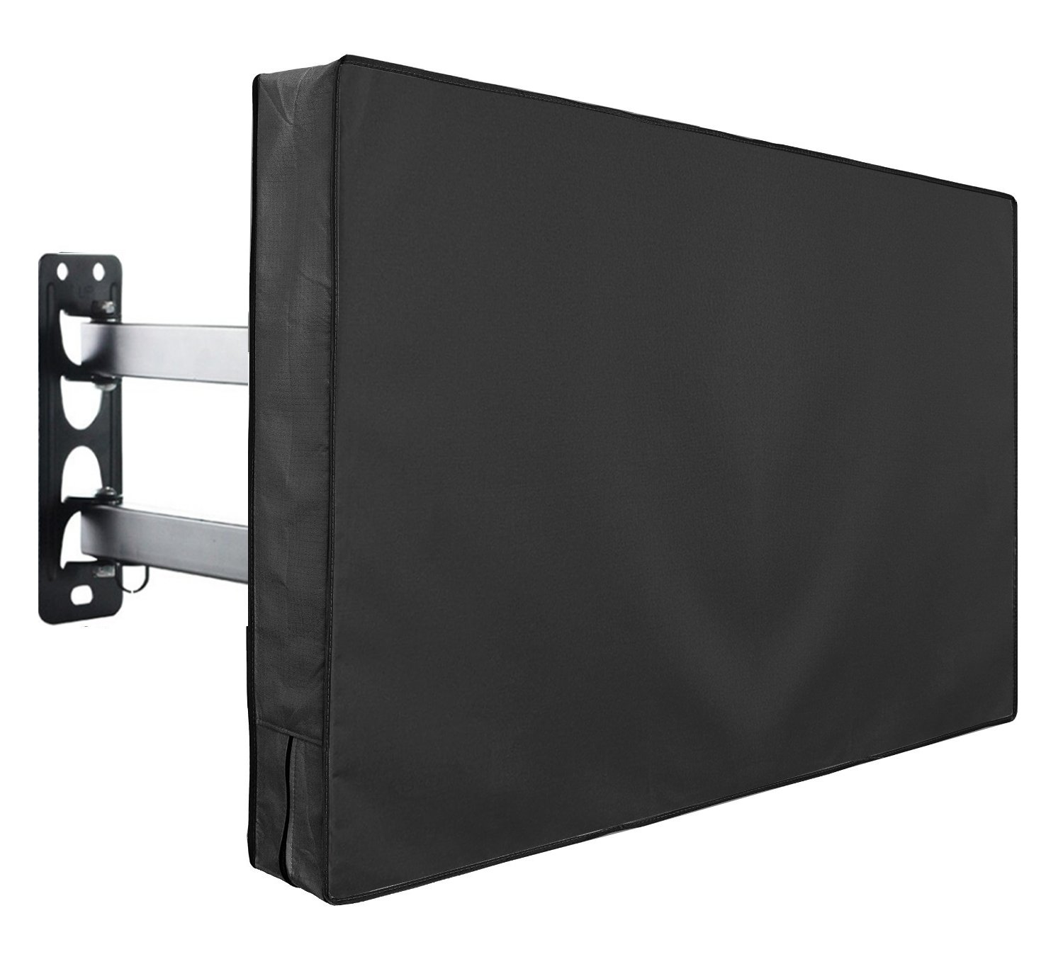 Outdoor TV Cover Fits 30'' - 32'' TV - Water and Dust Resistant - with Remote Control Storage Pocket by YYST