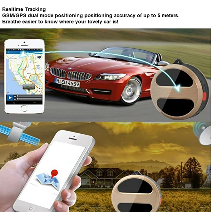 Mini GPS Real Time Tracker Locator GSM//GPRS//GPS For child Pet Vehicle SOS Out of Doors For Small PET Dog Cat Global Realtime Locator Remote Voice Monitor Free Online Tracking Platform TK08