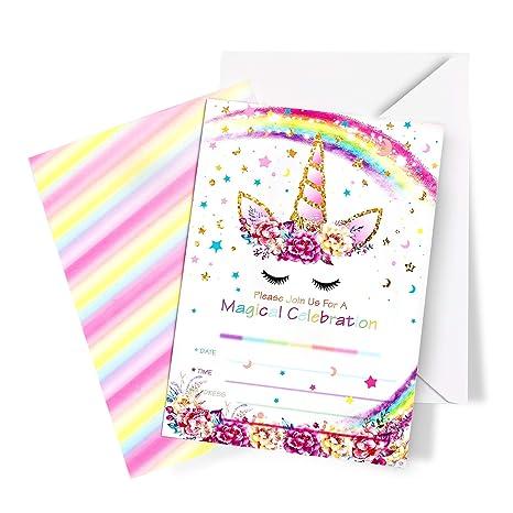 Invitaciones con sobres para fiesta de cumpleaños de niños ...