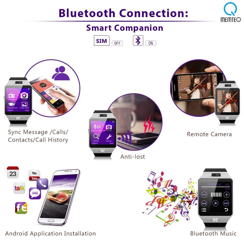 MEMTEQ? Reloj inteligente con Bluetooth 1,54