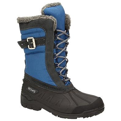e53ff61e56 BOWS® -SUSI- Winterstiefel Damen Schnee Stiefel Snow Schuhe Winterboots  warm gefüttert wasserdicht wasserabweisend