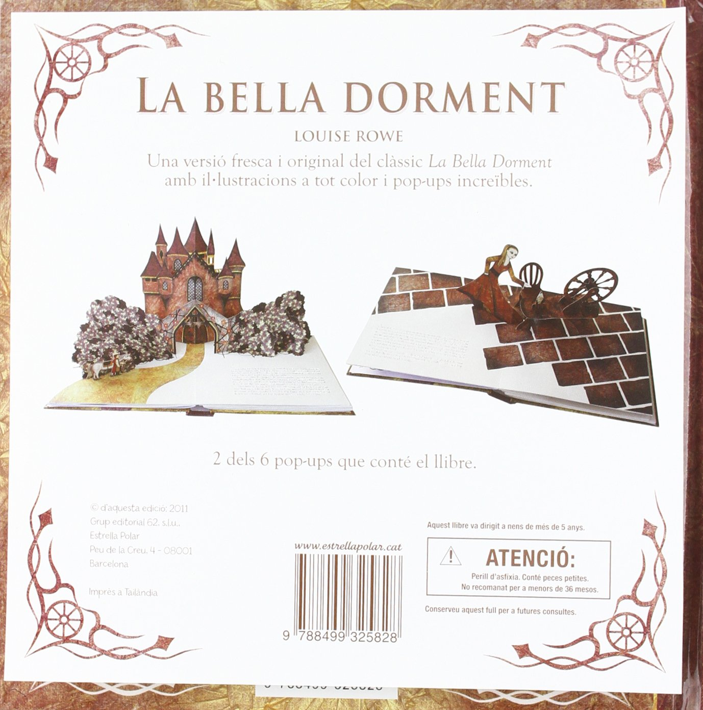 Amazon.com: La Bella dorment (pop-up): Un llibre màgic (pop ...