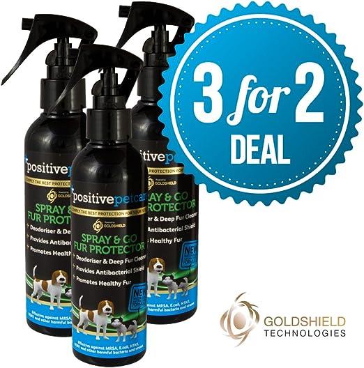 3 para 2 Deal – 7 Día seco perro Protector de pantalla y de piel de champú,