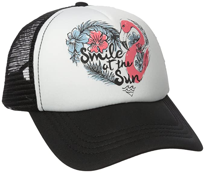 0dc27e3d5ac BILLABONG Big Girls' Ohana Trucker Hat, Off Black, One: Amazon.ca ...