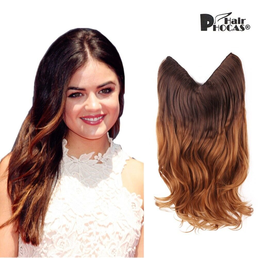 Amazon Creamily 20 Wavy Curly Brown To Caramel Blonde Ombre