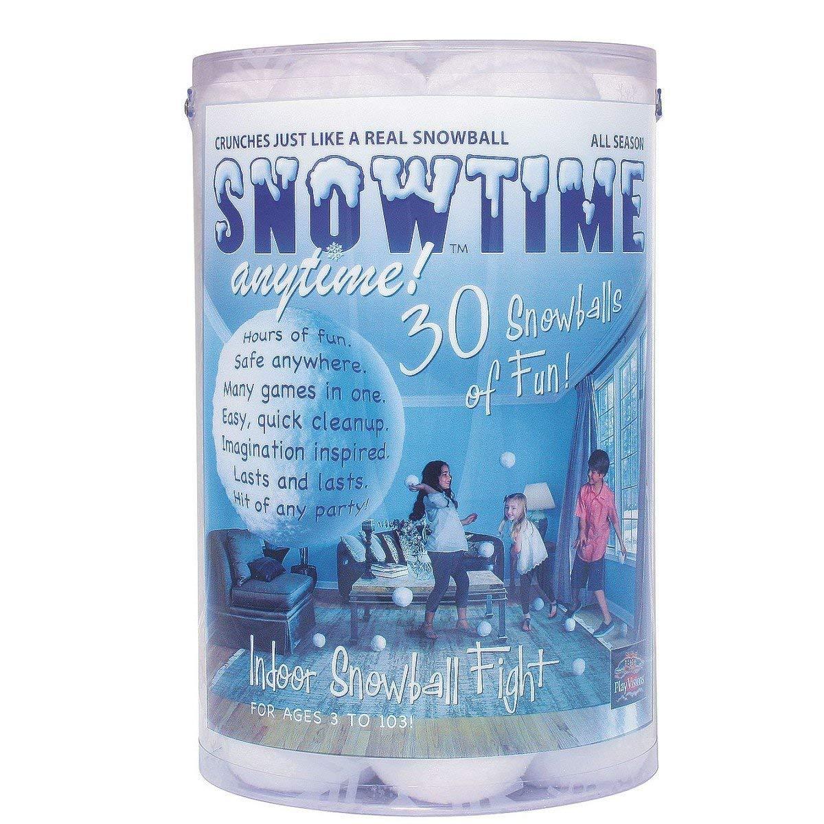 超人気 Indoor Snowball Fight - Snowtime B00HZS6XRO Fight Anytime - Safe, No No Mess, No Slush B00HZS6XRO, 【最安値挑戦】:f2265d2f --- fenixevent.ee