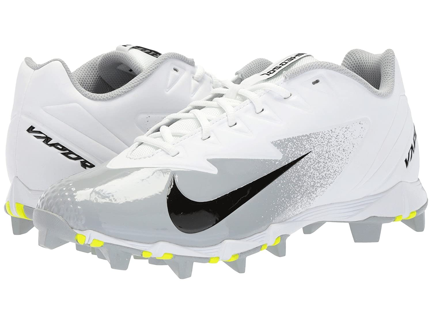(ナイキ) NIKE メンズ野球ベースボールシューズ靴 Vapor Ultrafly Keystone White/Black/Wolf Grey/Black 12.5 (30.5cm) D Medium B078PZMR36