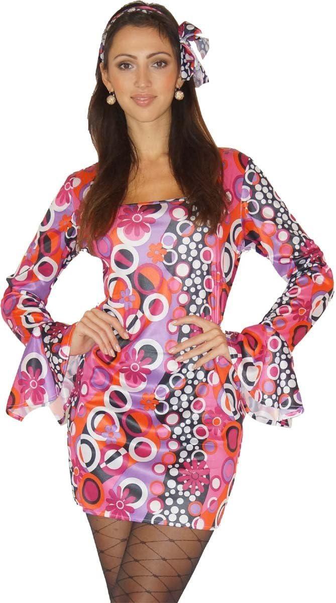 Maylynn 12240-L - Disfraz de Hippie Candy de los años 60 y 70 ...