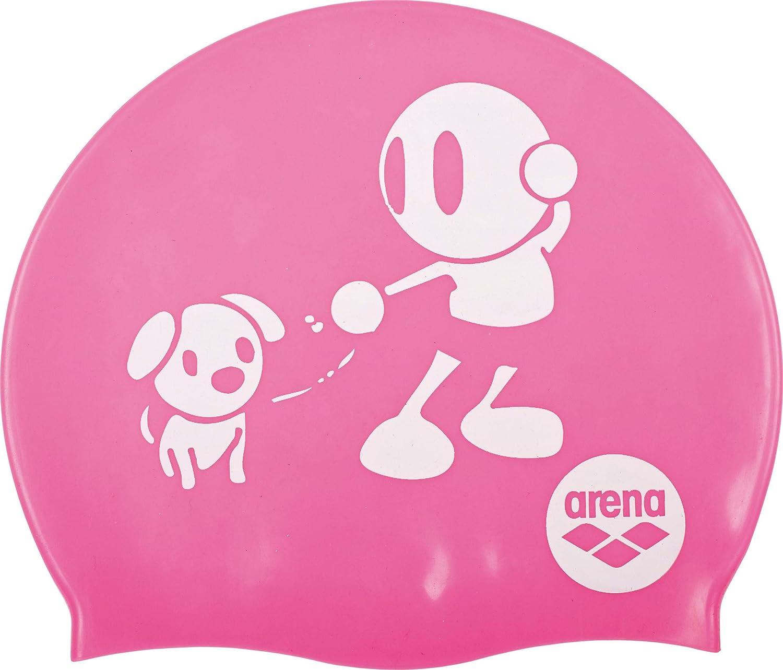 arena Kun - Gorro de natación Infantil, Color Fucsia