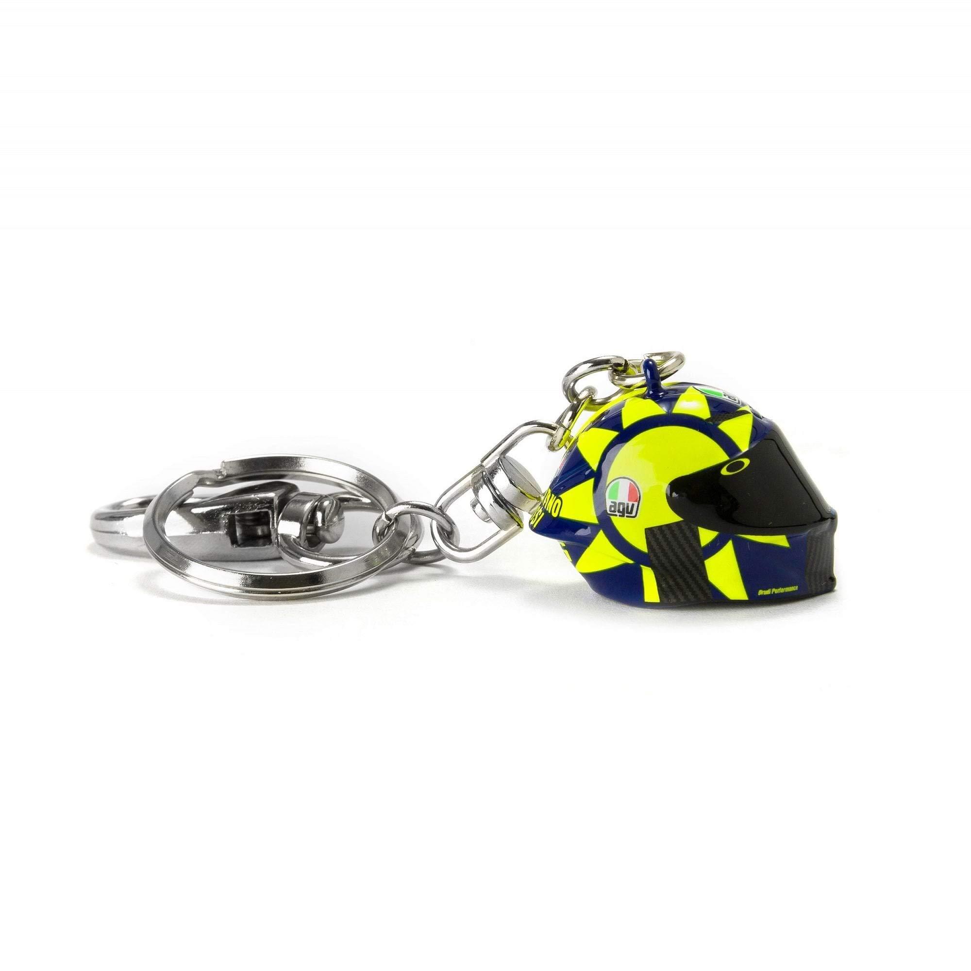 Valentino Rossi VR46 VR46 Valentino Rossi 3D Helmet Key Ring 2019