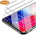 3-Pks. Syncwire iPhone X Tempered Glass Screen Protector