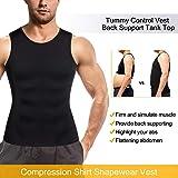 Ursexyly Men Sports Compression Shirt Shapewear