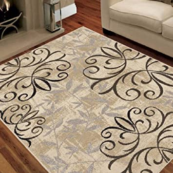 Amazon Com Better Homes And Gardens Iron Fleur Area Rug Or Runner