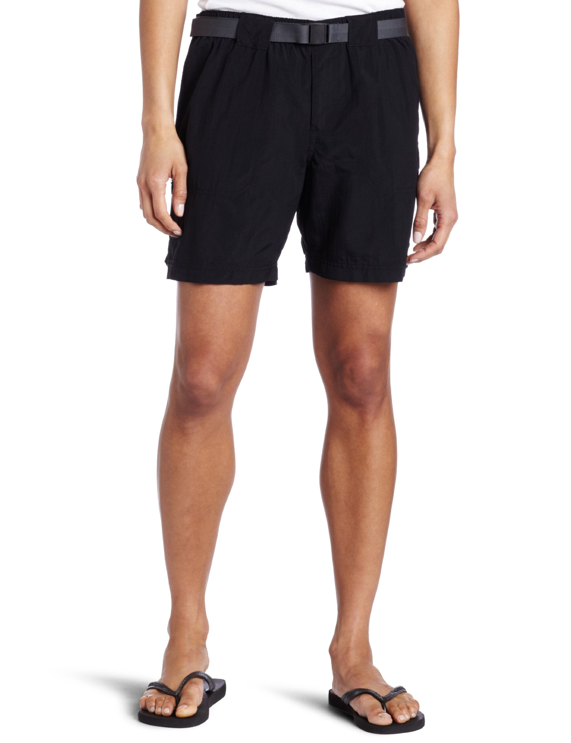 Columbia Women's Sandy River Cargo Short Shorts, black, Mx6