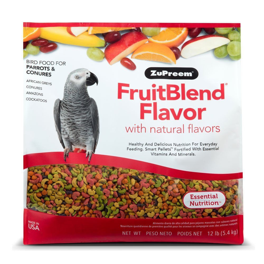 Zupreem Fruitblend Flavor With Natural Flavors 12 Lb. by ZuPreem