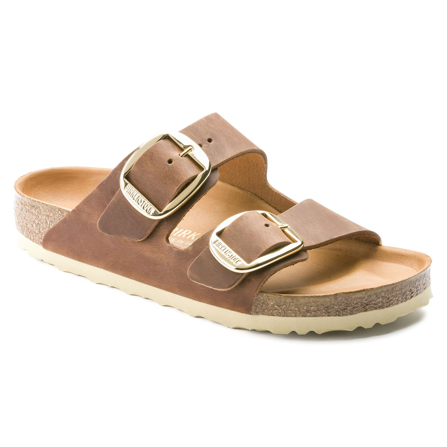 09103481c4b8 Galleon - Birkenstock Arizona Hex Cognac Leather 36 (US Women s 5-5.5)