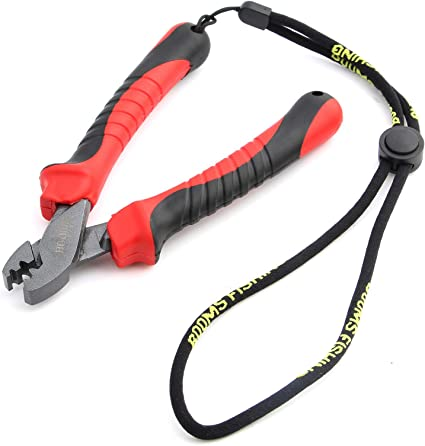 FISHING CRIMPING PLIERS FOR SEA FISHING RIGS WIRE TRACE RIG MAKING CARP PIKE