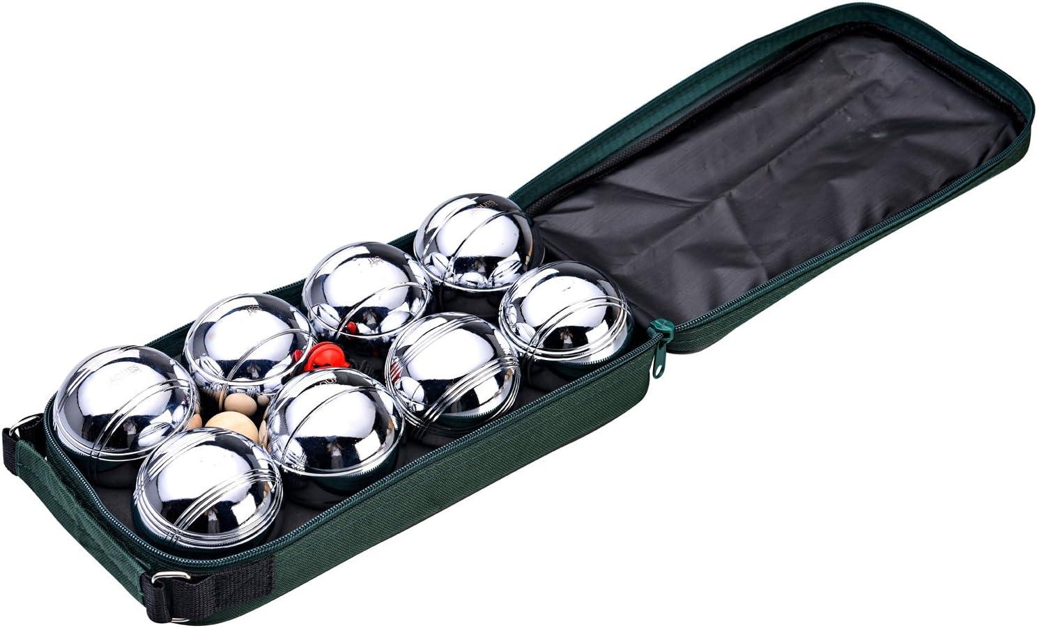 Jaques of London - Juego de petanca con bolas de acero: Amazon.es: Deportes y aire libre
