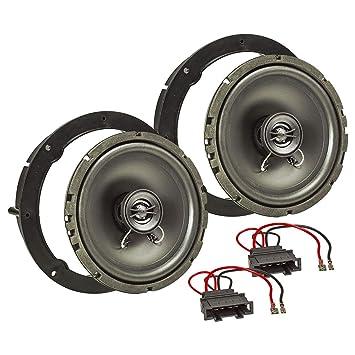 tomzz Audio 4057 - 006 Altavoz Set de instalación para Volkswagen ...