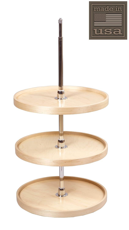 Jahrhundert Komponenten – Lazy Susan – 3 Regal Holz Full rund ...