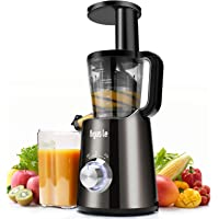 Argus Le Slow Juicer, Compact Design Masticating Juicer, High Nutrient Cold Press Juicer ¡