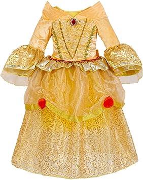 IWFREE Disfraz de Bella para Niñas Vestido de Princesa Disfraz de ...