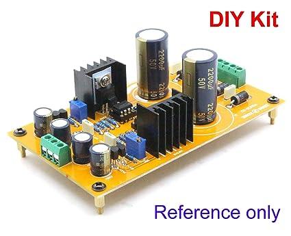 Amazon com: FidgetGear DIY Dual Voltage Adjustable Regulator PSU