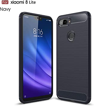 Cruzerlite Funda Xiaomi Mi 8 Lite, Carbon Fiber Shock Absorption ...