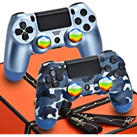 AUGEX 2 Pack Wireless Controller Compatible with PS4 Console,AUGEX P-4 Remote Control for… photo