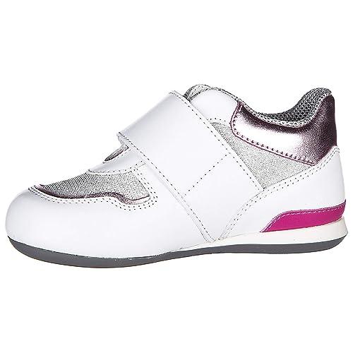 Hogan Scarpe Sneakers Bimba Bambina Pelle Nuove Olympia Argento EU 26  HXT0520X970G8Q0KJI  Amazon.it  Scarpe e borse 382533a9819