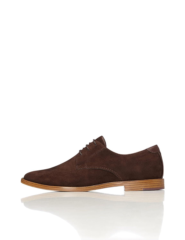TALLA 42 EU. find. Zapato Clásico con Cordones para Hombre