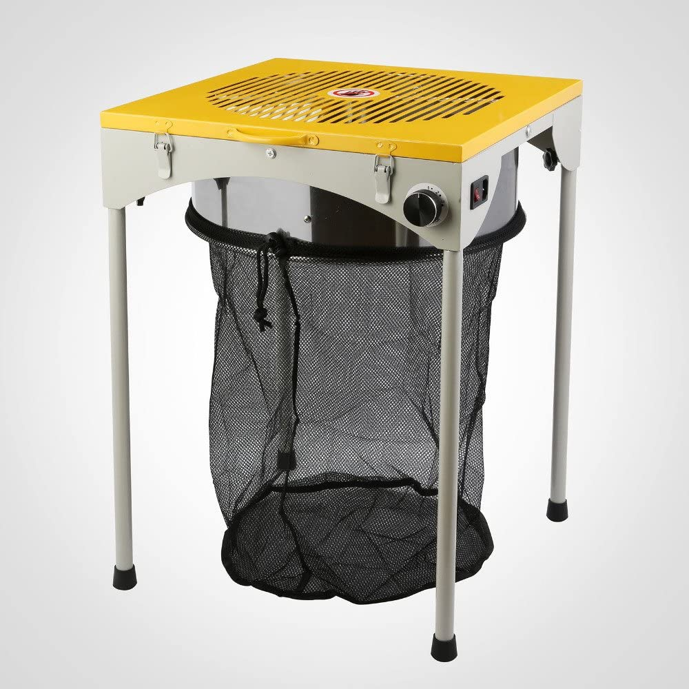 Mesa manicuradora eléctrica - Peladora Table Trimmer 46x46x64,5cm