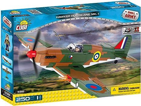 IX Model 250 Piece Construction Set Cobi Small Army WW2 Supermarine Spitfire Mk
