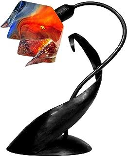 product image for Jezebel Signature TLLD-B-FP12-GAR Flame Style Black Lazy Daisy Lamp, Garnet