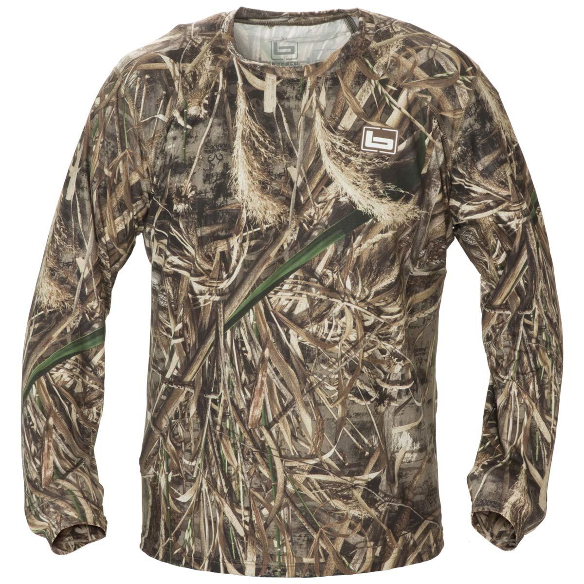 Banded Men S Tech Stalker Mock Shirt Long Sleeve Polyester