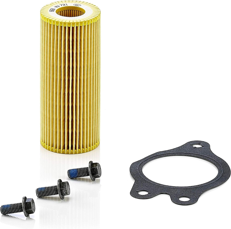 Original Mann Filter Ölfilter Hu 721 X Kit Getriebefilter Mit Dichtung Dichtungssatz Für Pkw Und Nutzfahrzeuge Auto