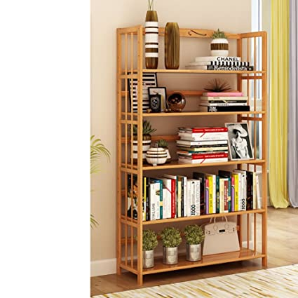 Amazoncom Jxboos Bookshelfsimple Modern Bamboo Student Children