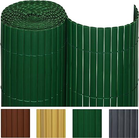Sol Royal - SolVision Protección Visual de PVC barandillas cercas Vallas de jardín o terraza - 90x500 cm - Verde: Amazon.es: Hogar