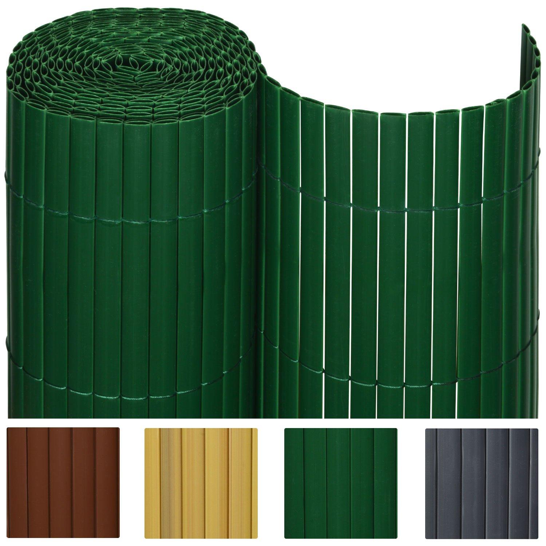 Sol Royal PVC Sichtschutz Zaun SolVision 80x300cm Grün