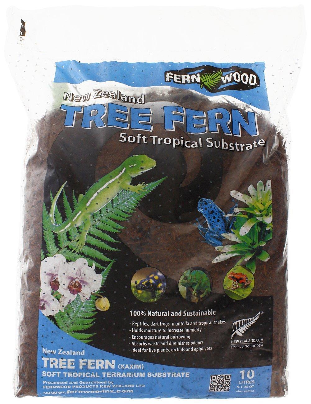 Amazon.com: Substrato de árbol de helecho – bolsa de 10 ...