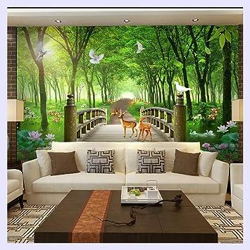 Bhxingmu Benutzerdefinierte Grosse 3d Wandbilder Tapeten Wohnzimmer