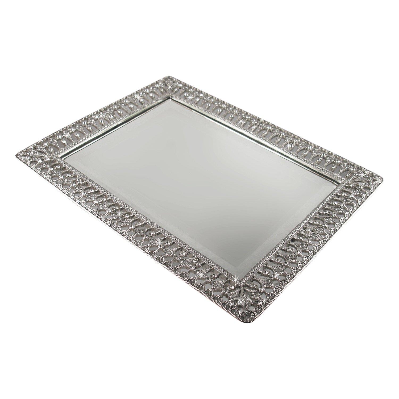 Decorative Metal Tray Shop Amazoncom Decorative Trays