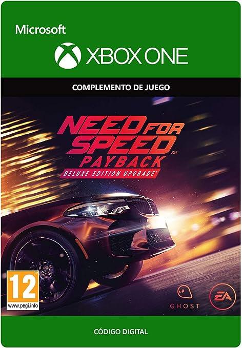 Need for Speed: Payback Deluxe Edition Upgrade | Xbox One - Código de descarga: Amazon.es: Videojuegos