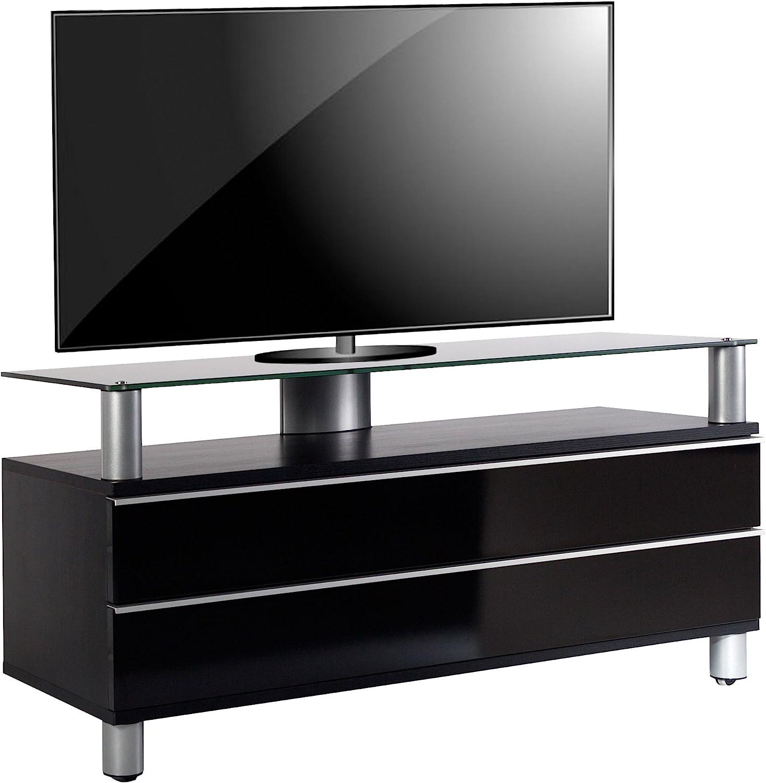 VCM Dasano Mueble para televisor Dasano Pantalla Flat salón Moderno, Madera, Negro, 55 x 120 x 40 cm: Amazon.es: Hogar