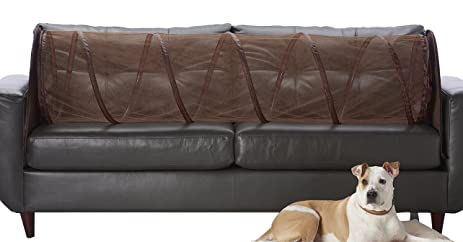 Couch Defender Couch Defender: Keep Pets Off Of Your Furniture, Brown