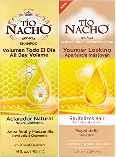 Tio Nacho All Day Volume Natural Lightening Shampoo and Conditioner Duo 14 oz