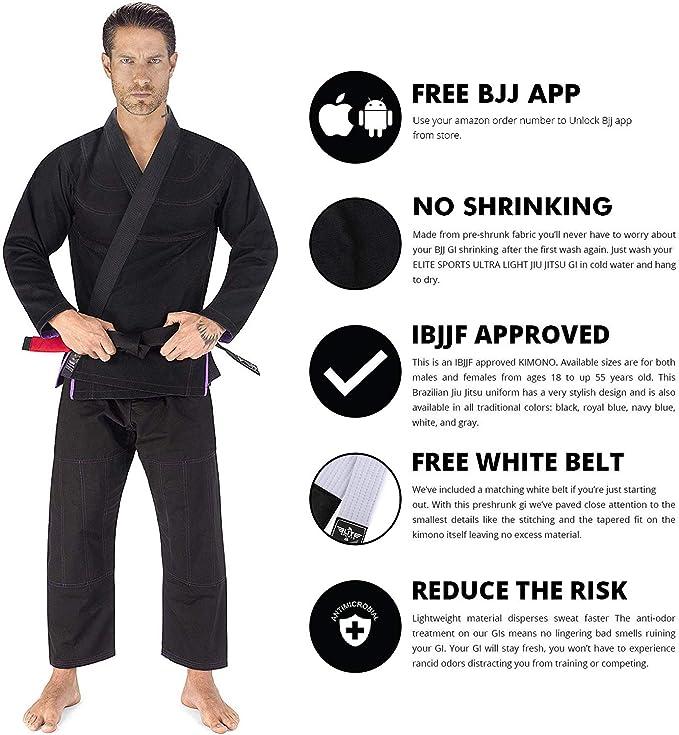 adidas Jiu-Jitsu IBJJF MMA Competition Purple Belt Rashguard